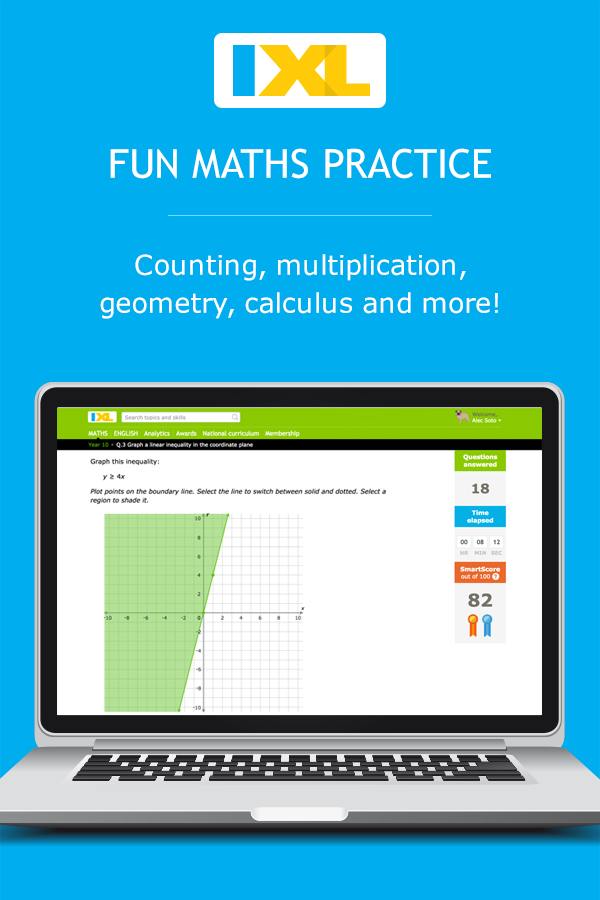 ixl maths and english practice
