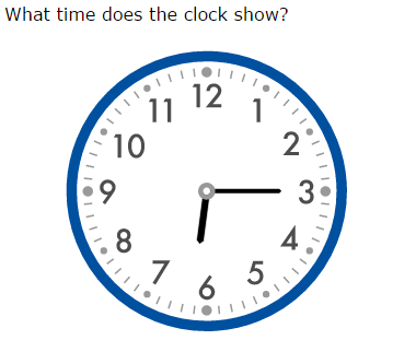 ixl read clocks and write times year 4 maths practice