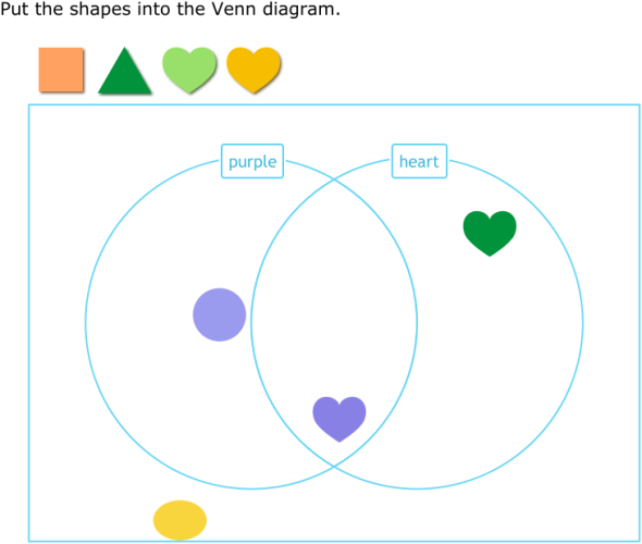 Ixl sort shapes into a venn diagram year 2 maths practice ccuart Image collections